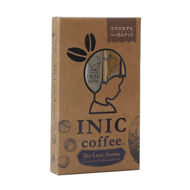 INIC coffee キャラメルヘーゼルナッツ